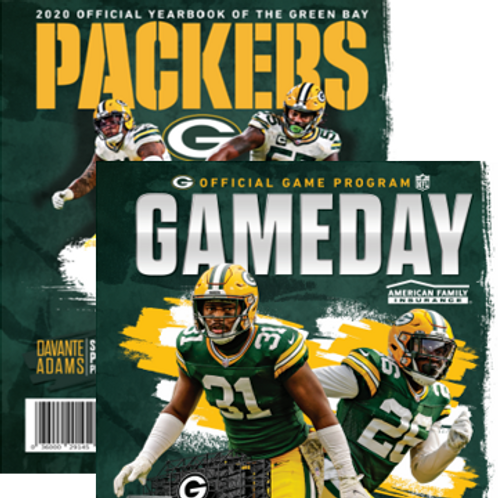 Green Bay Packers Yearbook & GameDay Combo Pack