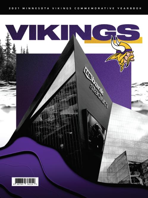 2021 Minnesota Vikings Yearbook