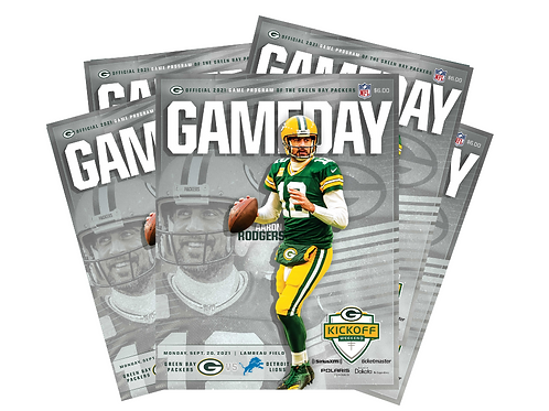 Green Bay Packers GameDay Magazine Digital Subscription