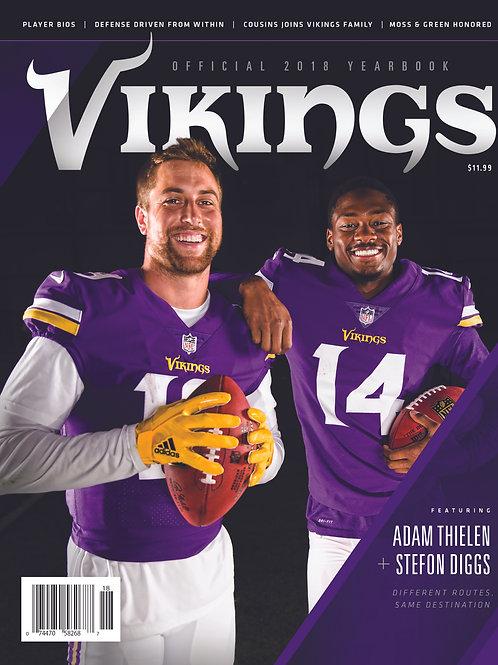 2018 Minnesota Vikings Yearbook