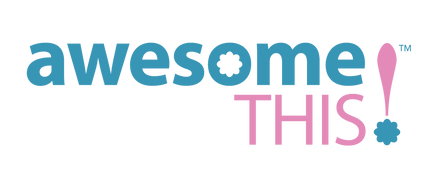 Single - awesome this logo - two color -