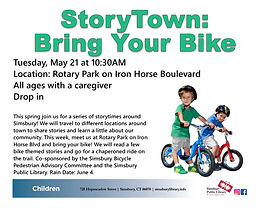 2019 SPL_StoryTown Bring Your Bike_May21