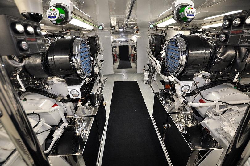 OIl Mist Detector yacht installation