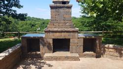 Fullerton fireplace