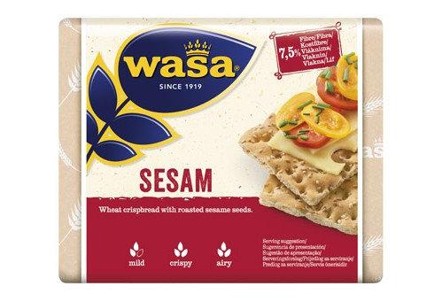 """Traškios ruginės duonelės su sezamo sėklomis ,,Sesam"""""""