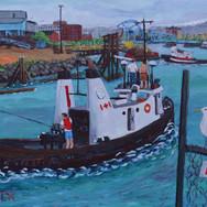 Ocean Warrior in Rock Bay