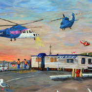 Fred and the Heliport
