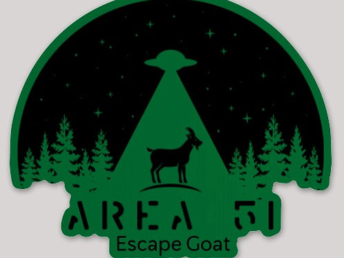 Area 51 Sticker