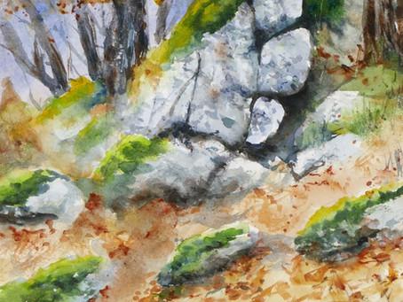 Les rochers du vallon de Treimes