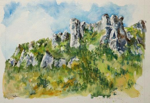 Falaises du Rochefort Florac