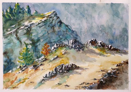 Roches et falaises de Lozère