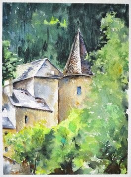 Chateau de Florac Lozère