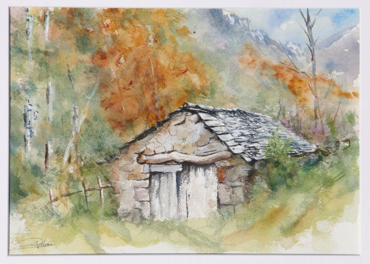 L'automne dans le vallon