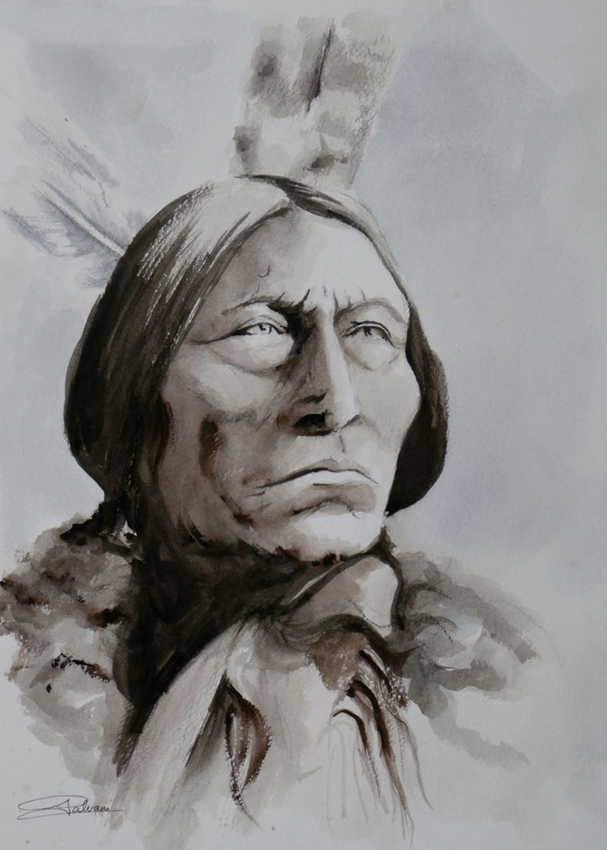 Wolf Robe Cheyenne