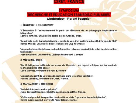 Troisième Congrès Mondial de la Transdisciplinarité