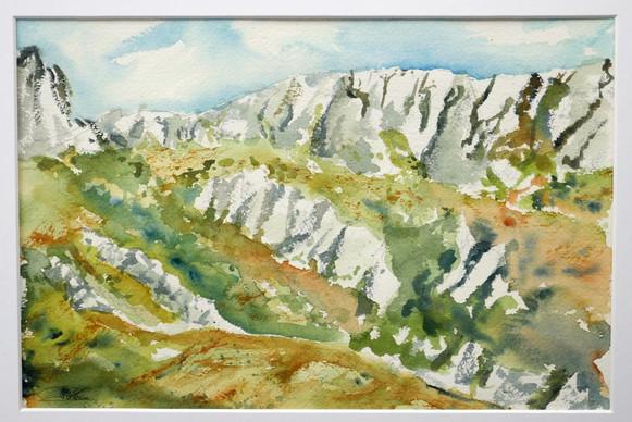 Col du massif de la Ste-Baume