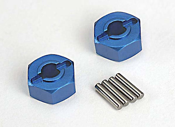 1654x 12mm Hex Alum Wheel Hub (Blue)