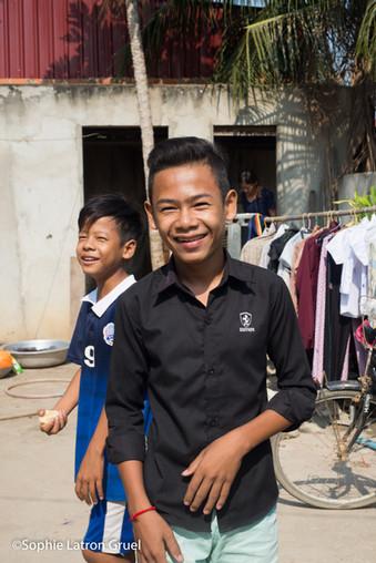atelier d'art-thérapie évolutive à Phnom Penh