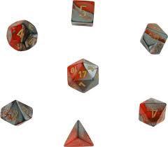 Gemini Orange-Steel/Gold 7 Die Set - 26461