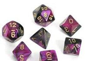 Gemini Black-Purple/Gold 7 Die Set - 26440