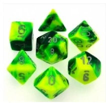Gemini Green-Yellow/Silver 7 Die Set - 26454