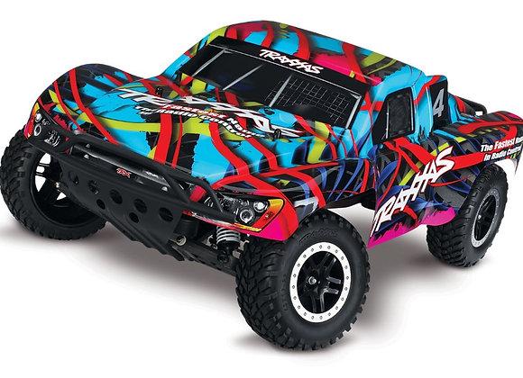 58076-4HWN Traxxas Slash VXL Brushless 1/10 RTR Short Course Truck Hawaiian