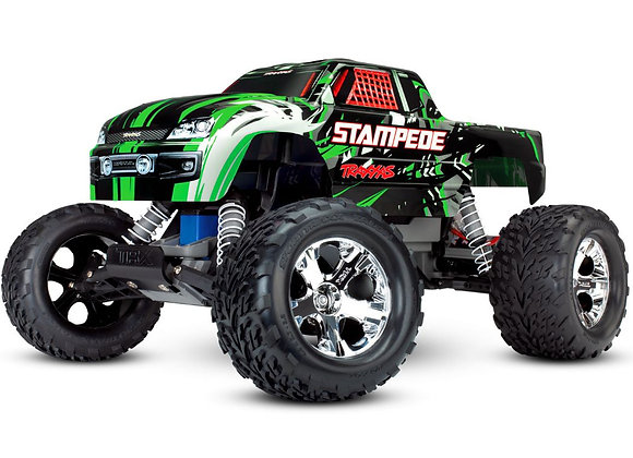 36054-4GREEN Traxxas Stampede 1/10 2wd XL-5 NO BATTERY/CHARGER - Green