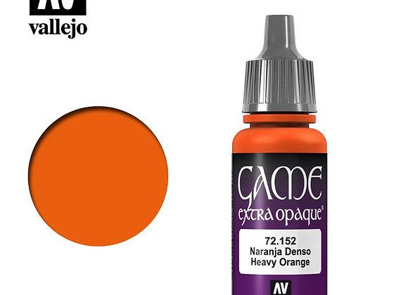 Heavy Orange Extra Opaque - 72152