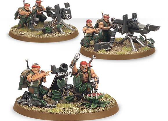 Catachan Heavy Weapon Squad