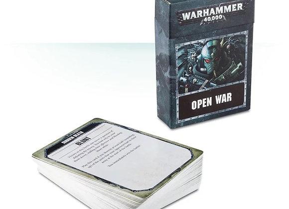Warhammer 40k: Open War Cards