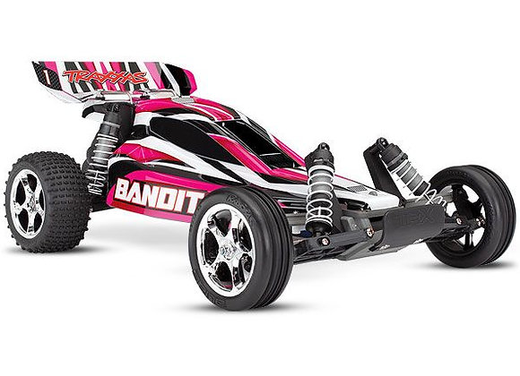24054-1PINKX Traxxas Bandit 1/10 RTR Buggy PinkX