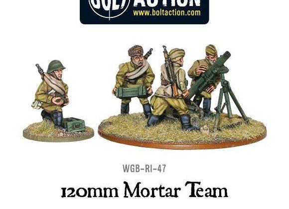 Soviet 120mm Heavy Mortar Team