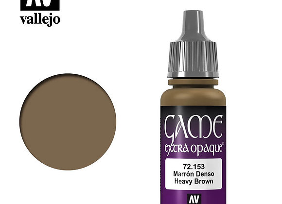 Heavy Brown Extra Opaque - 72153