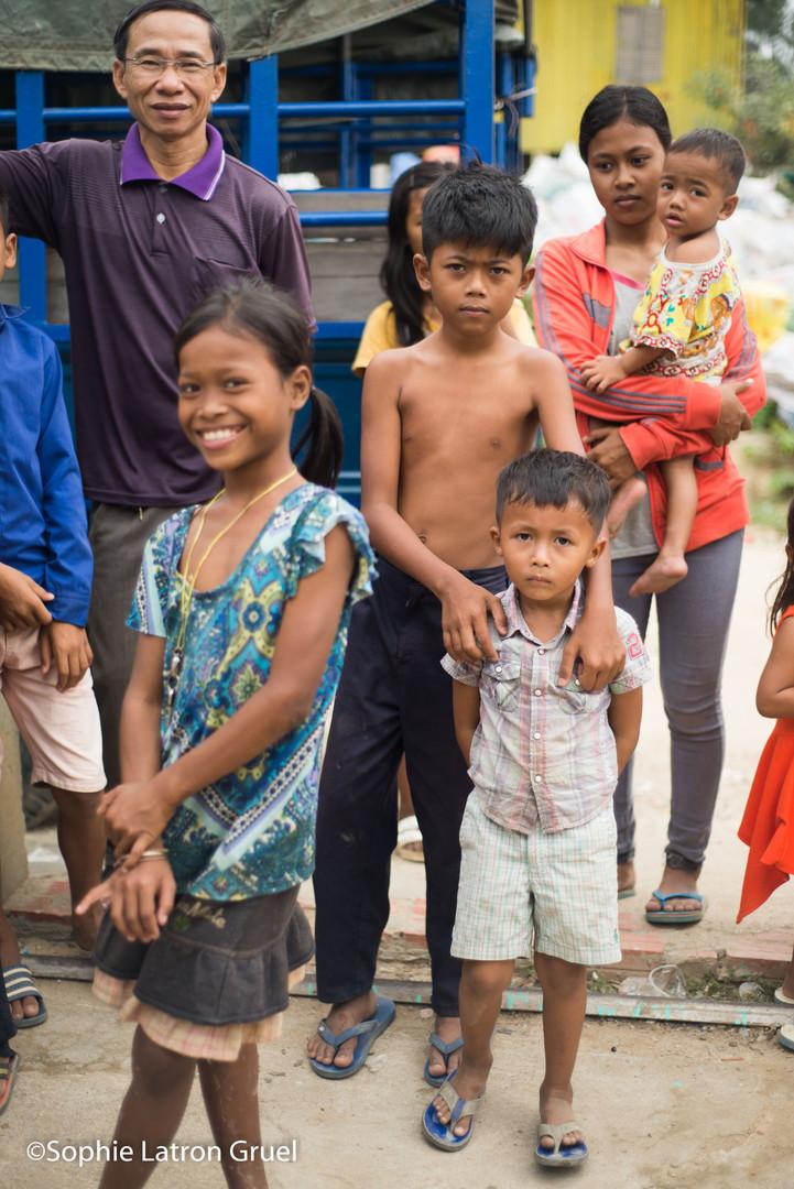 art-thérapie humanitaire au cambodge
