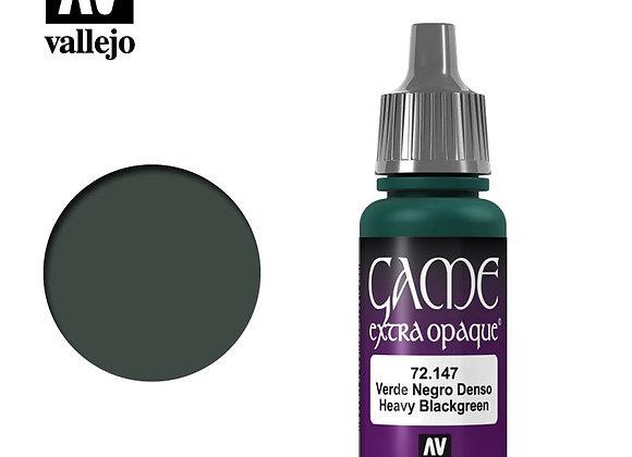 Heavy Blackgreen Extra Opaque - 72147