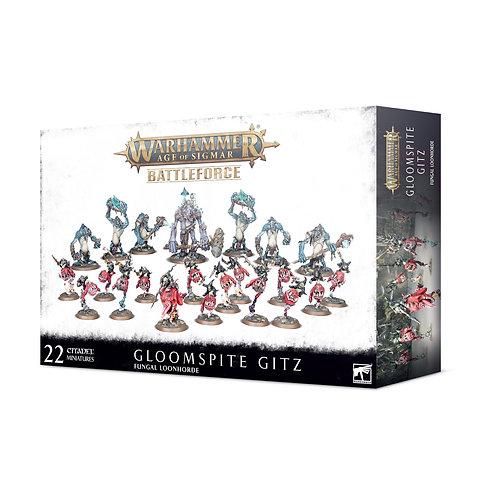 Gloomspite Gitz Battleforce – Fungal Loonhorde