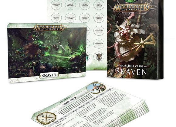 Warscroll Cards: Skaven