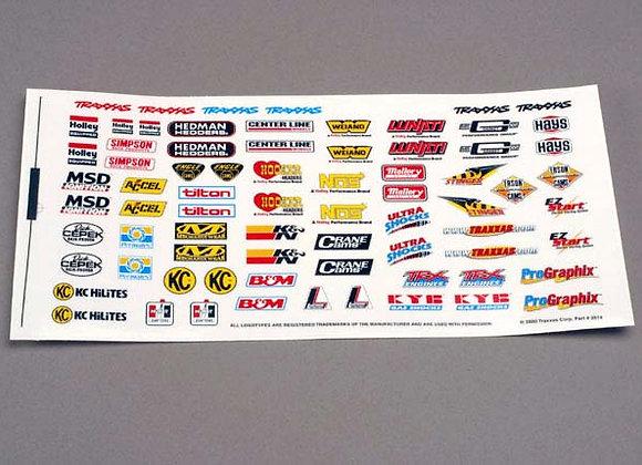 2514 Racing Sponsors Decal Sheet