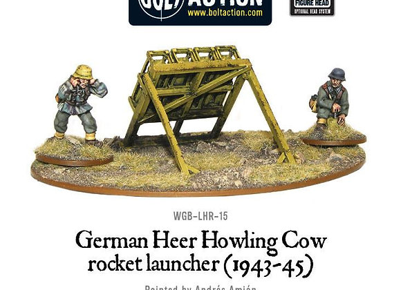 German Heer Howling Cow Rocket Launcher
