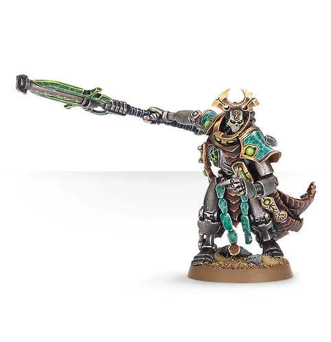 Necron Overlord with Warscythe