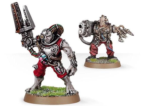 Servitors with Plasma Cannon