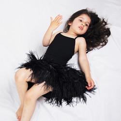 Parisian Doll Feather Skirt