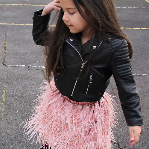 Parisian Doll Feather Skirt