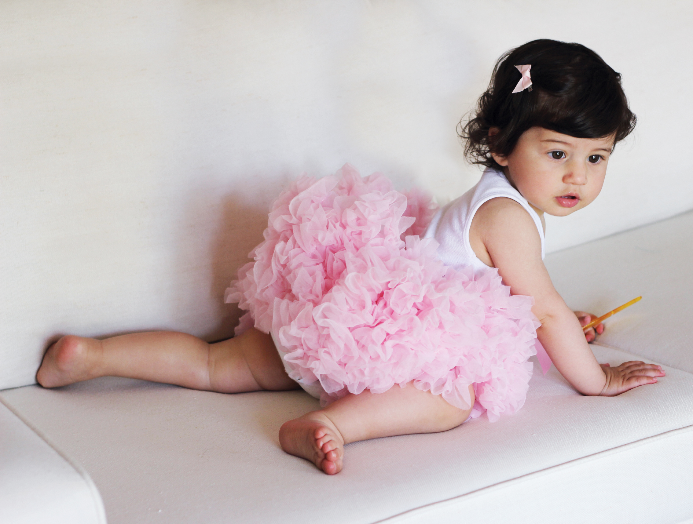 Strawberry Creme Tutu Skirt