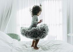 Silver Candy Tutu Skirt