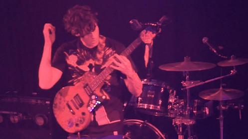 Electric guitar performance at KMG Studios