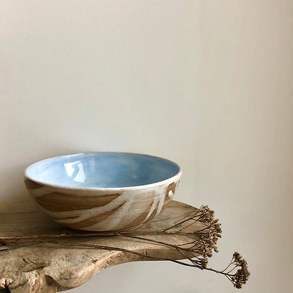 Marbled Bowl with Drips - Medium