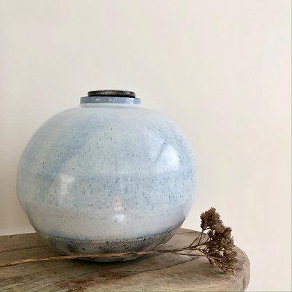 Lidded Vessel/Moon Vase