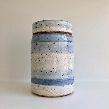 tall lidded jar - medium