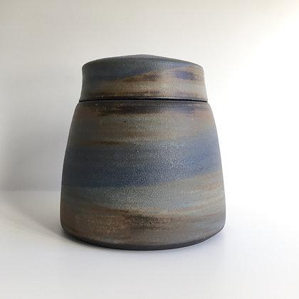 lidded pot - tall